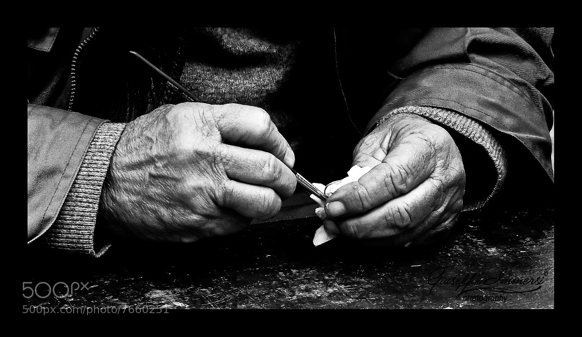 Photograph Hands of a Painter by GiuseppeImmersi on 500px