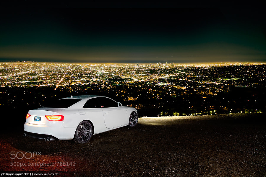 Photograph Audi S5 vs. LA skyline by Philipp Rupprecht on 500px