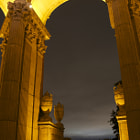 Постер, плакат: Palace of Fine Arts SF close up