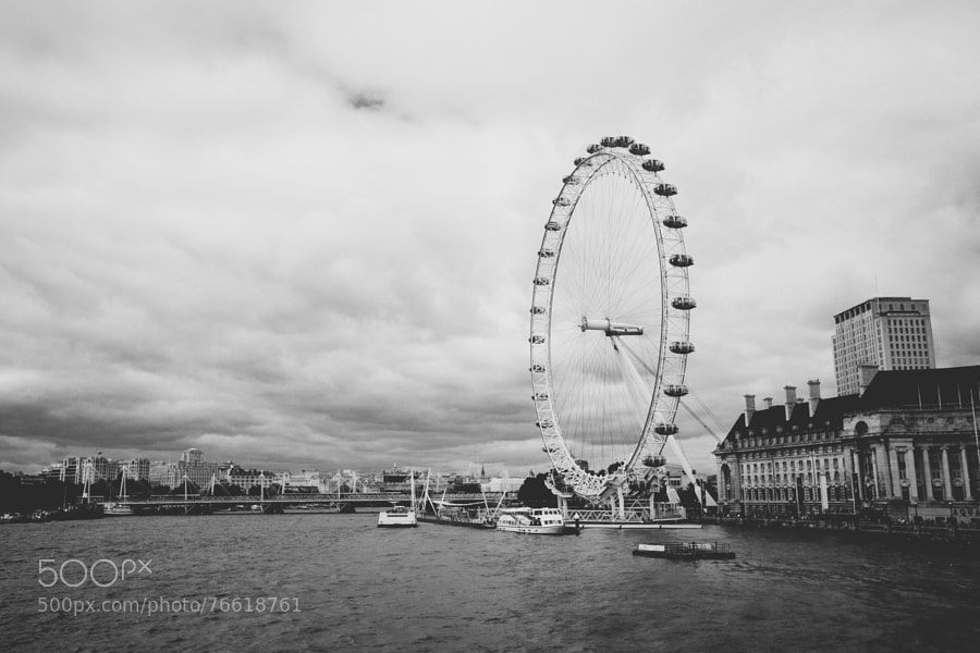 Thames River and London Eye by Pam Culver on 500px