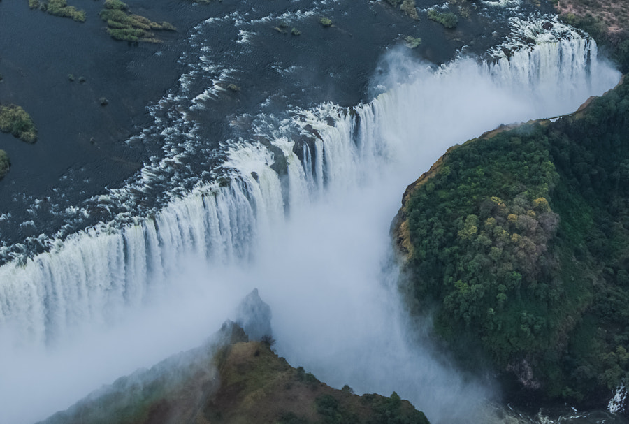 Photograph Victoria Fall Aerial View #2 by Kotomi Ito on 500px