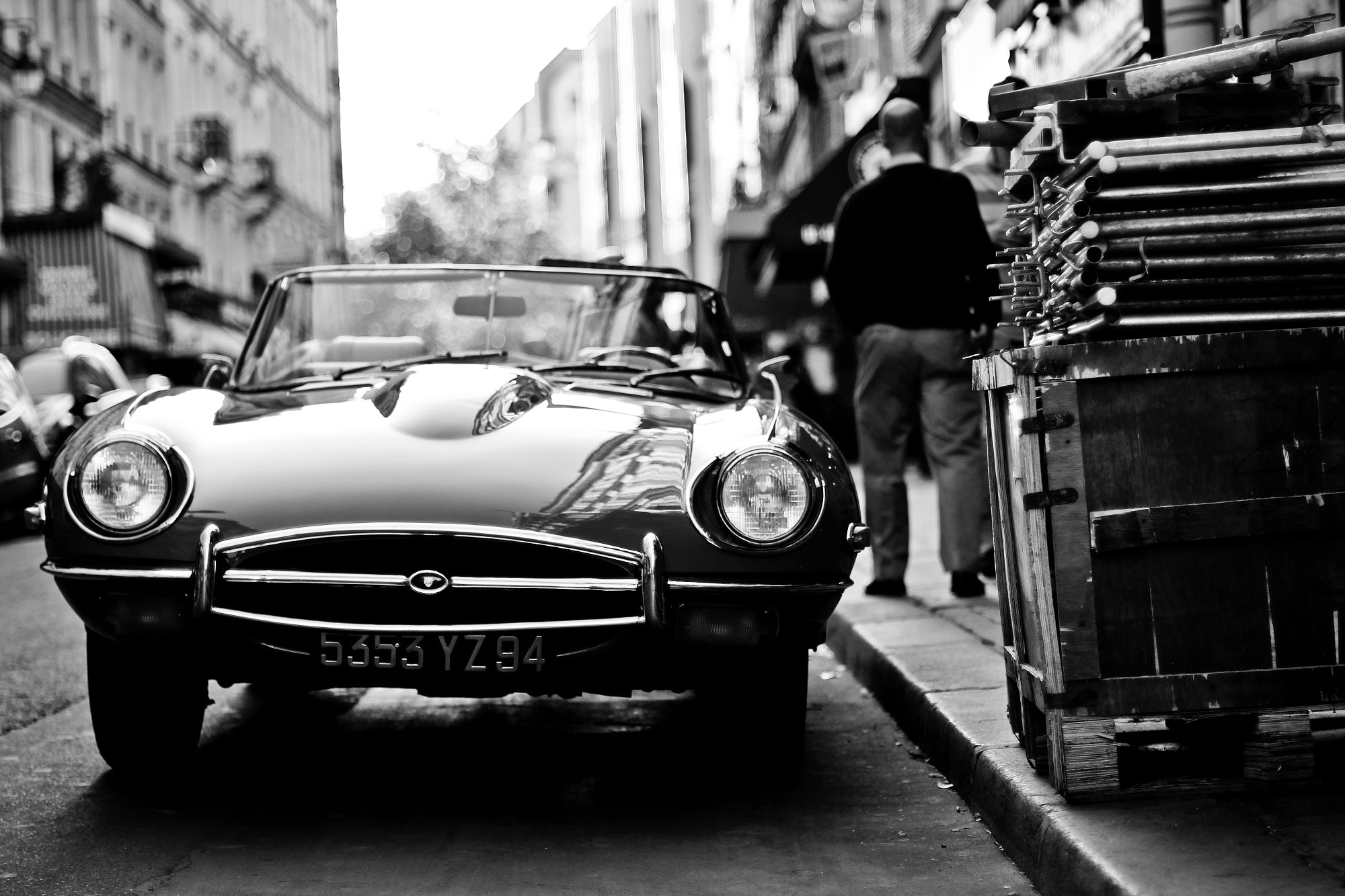 Jaguar Type E >> Jaguar E-type black and white by Nick Owen - Photo 7663950 / 500px