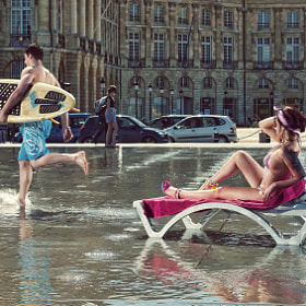 Bordeaux beach  by Felix Barjou (thecatphoto)) on 500px.com