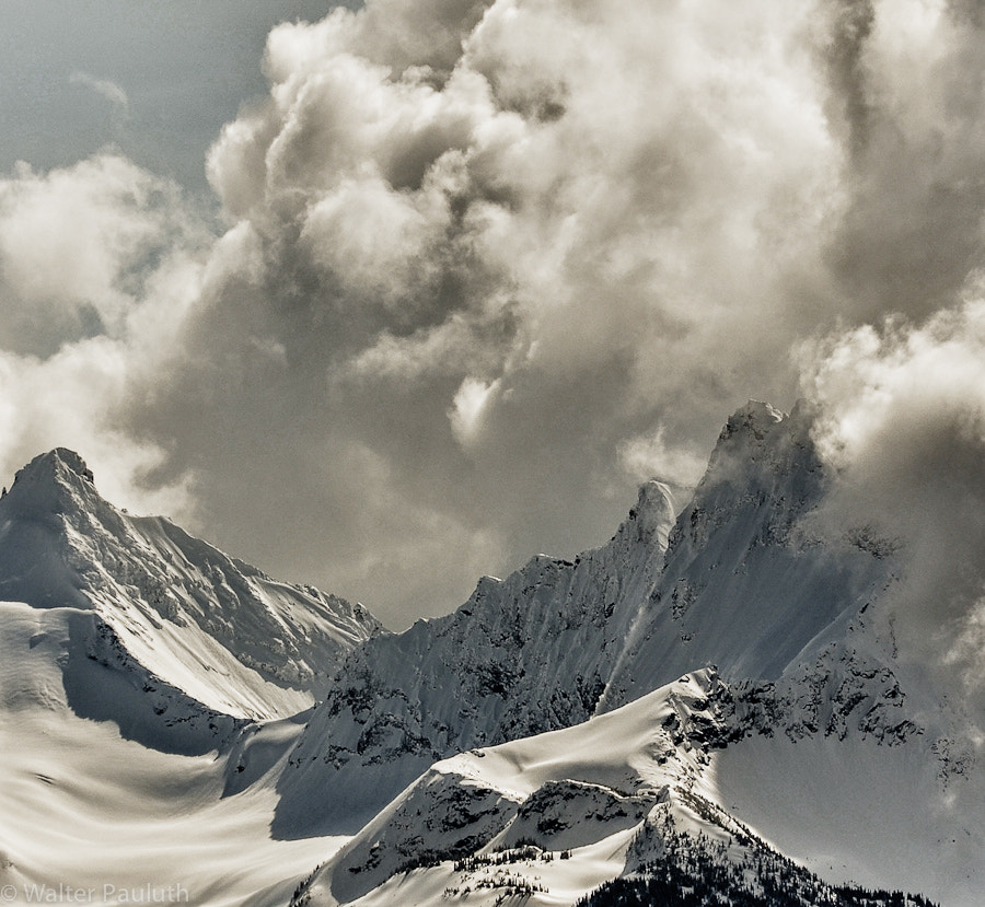 Photograph Stormy mountain by Walter Pauluth on 500px