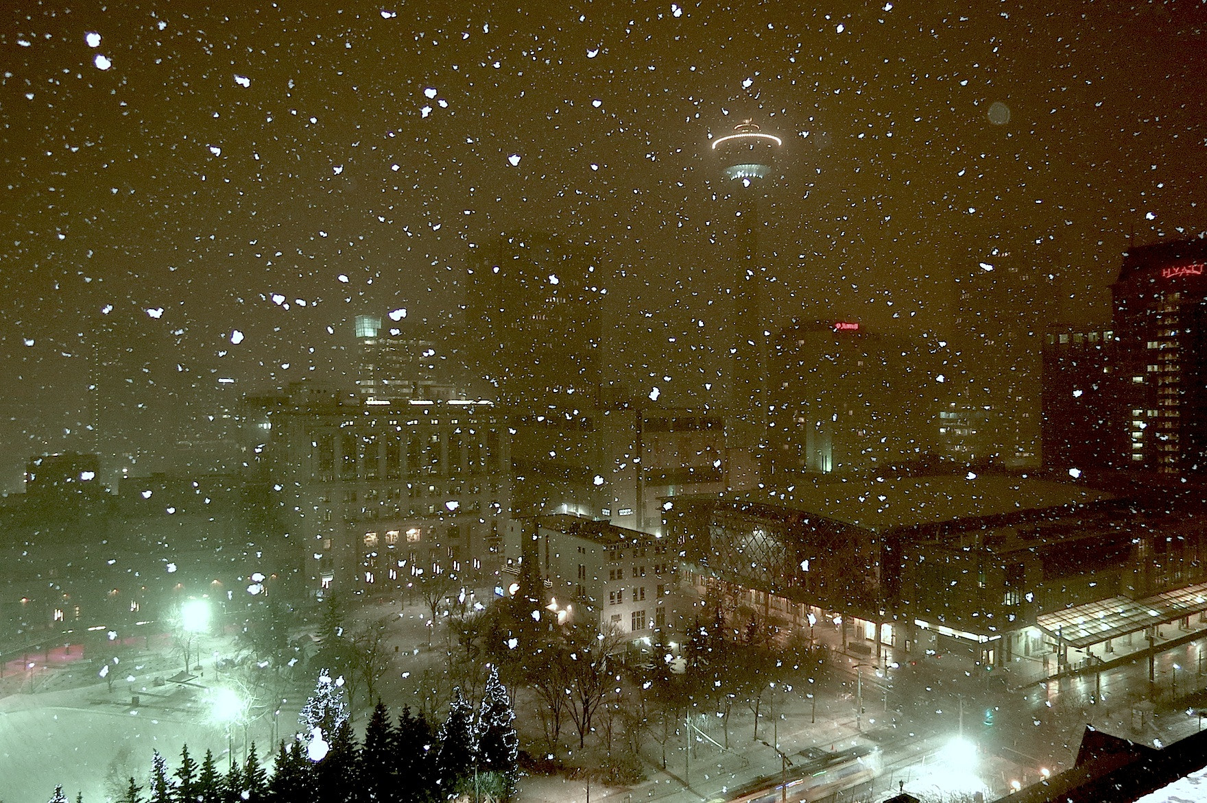 Photograph Calgary Snowglobe by Weeb DaCat on 500px