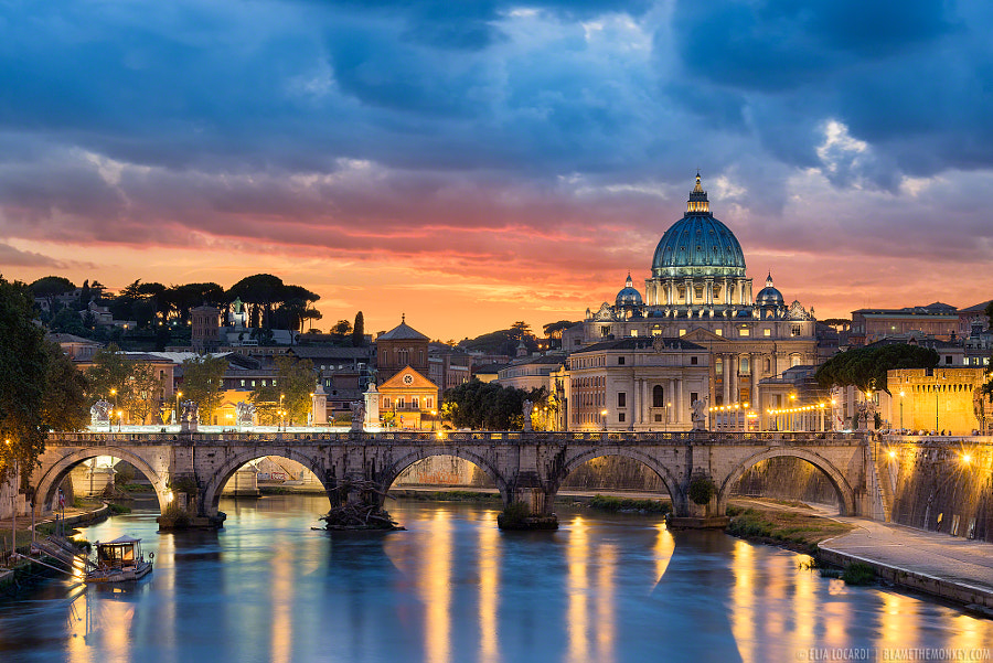 most beautiful cities in the world -Roman Radiance by Elia Locardi on 500px.com