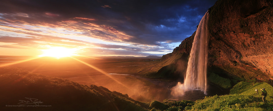 [ seljalandsfoss ] by Deryk Baumgärtner on 500px.com