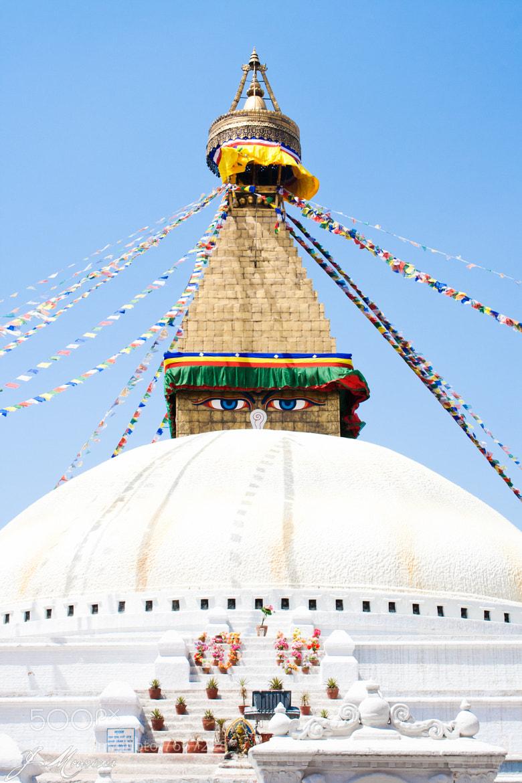 Photograph Nepal - Boudha Stupa by Juliana Mourisca on 500px
