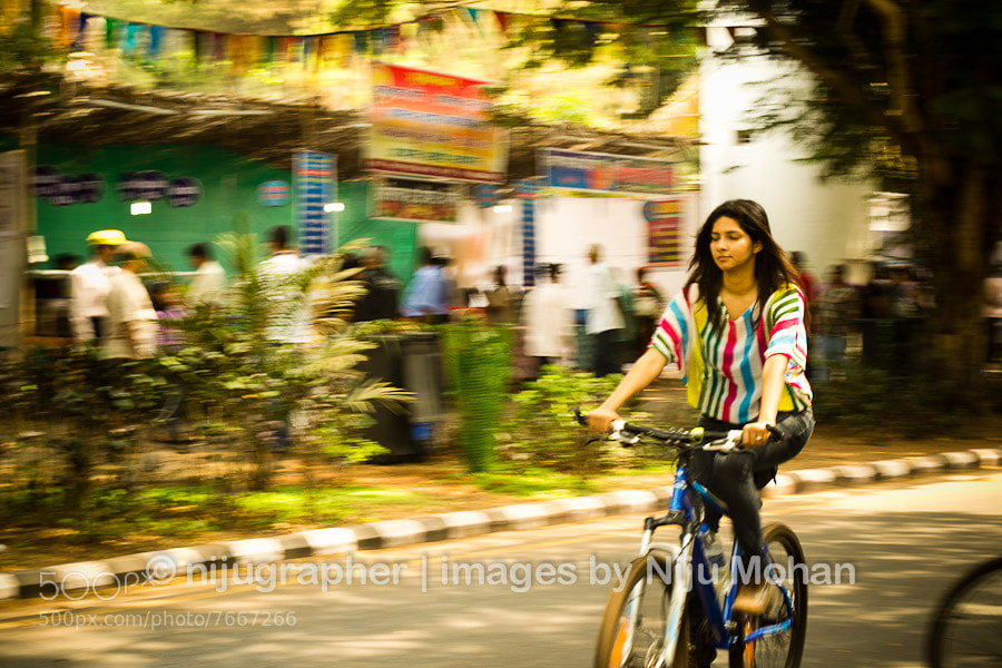 Photograph During NoMoZo (Non Motorised Zone) in Panjim by Niju Mohan on 500px