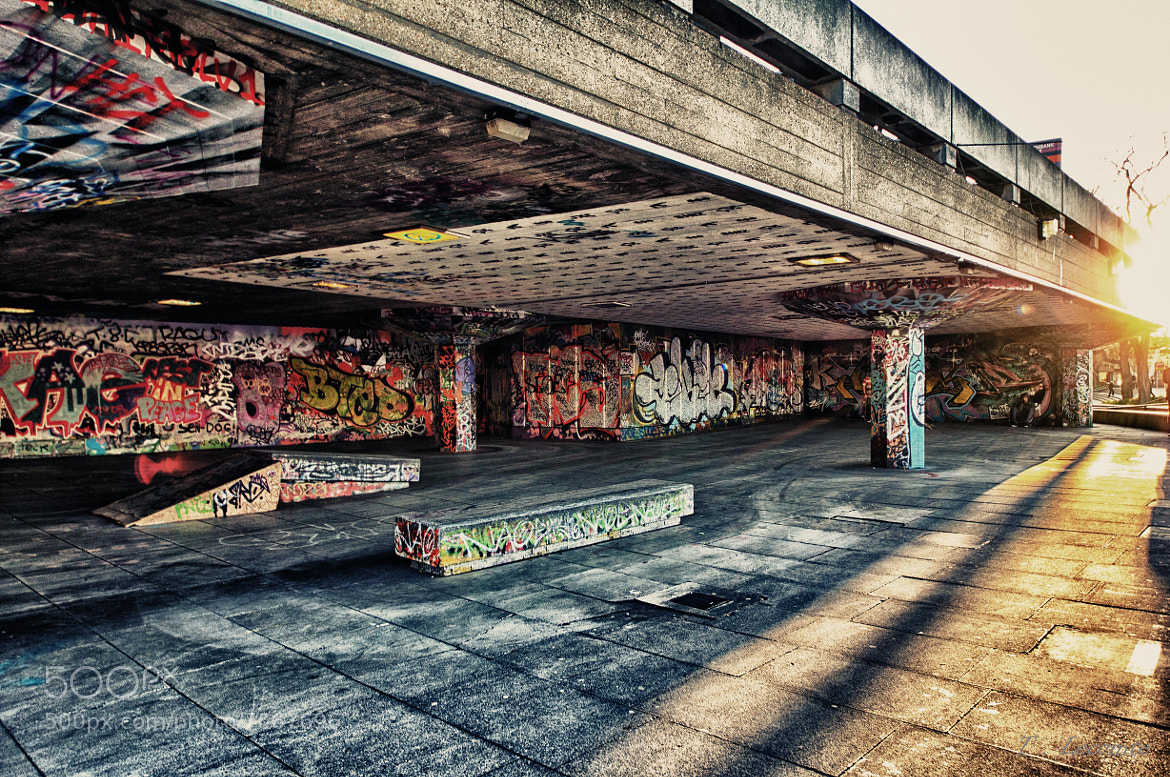 Photograph London : South Bank Skate Park by Thomas Lecomte on 500px