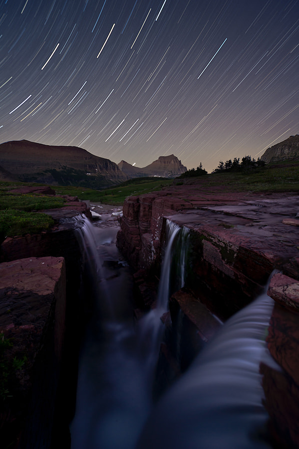 Photograph Triple Trails by Alex Mody on 500px
