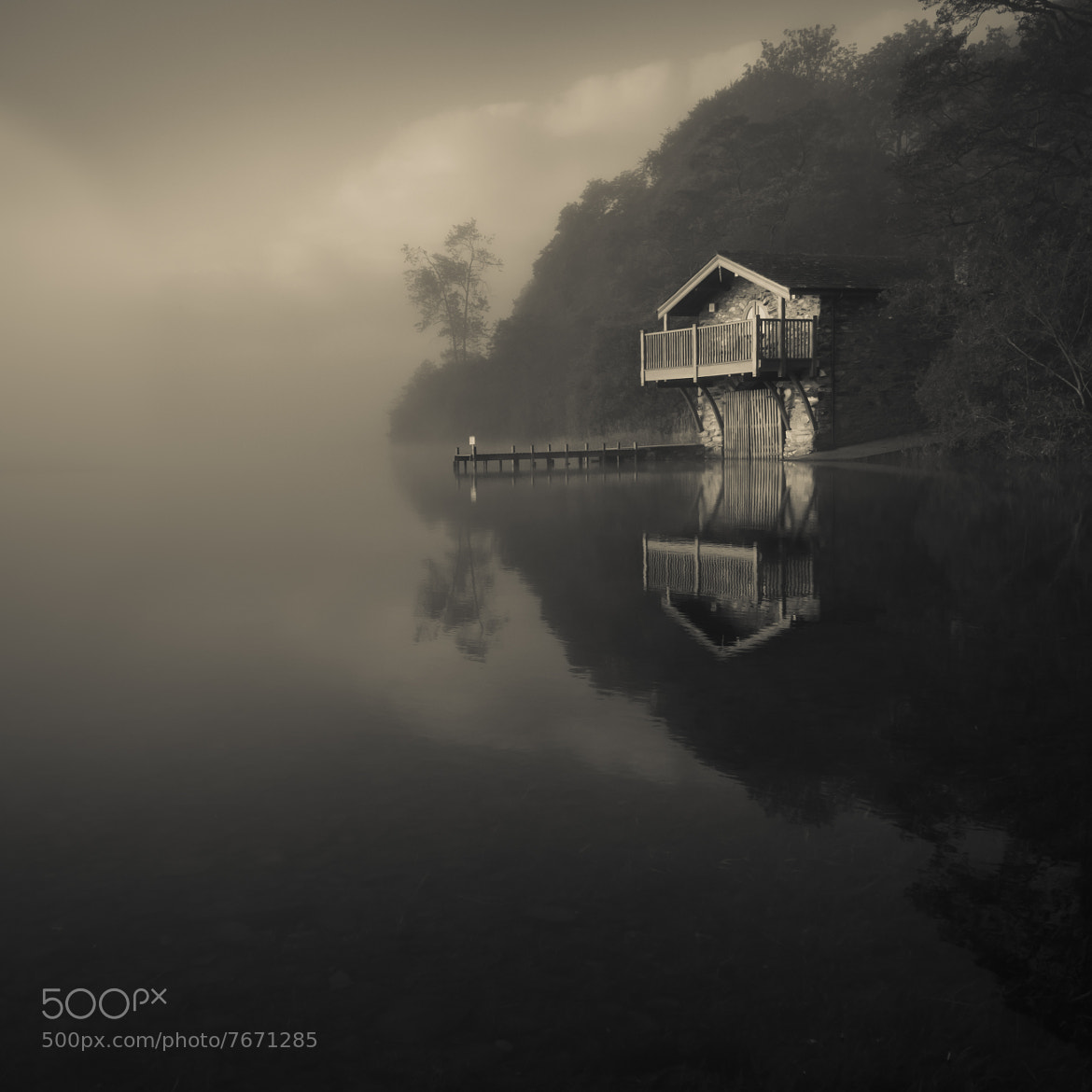 Photograph The Boathouse by Mark Littlejohn on 500px