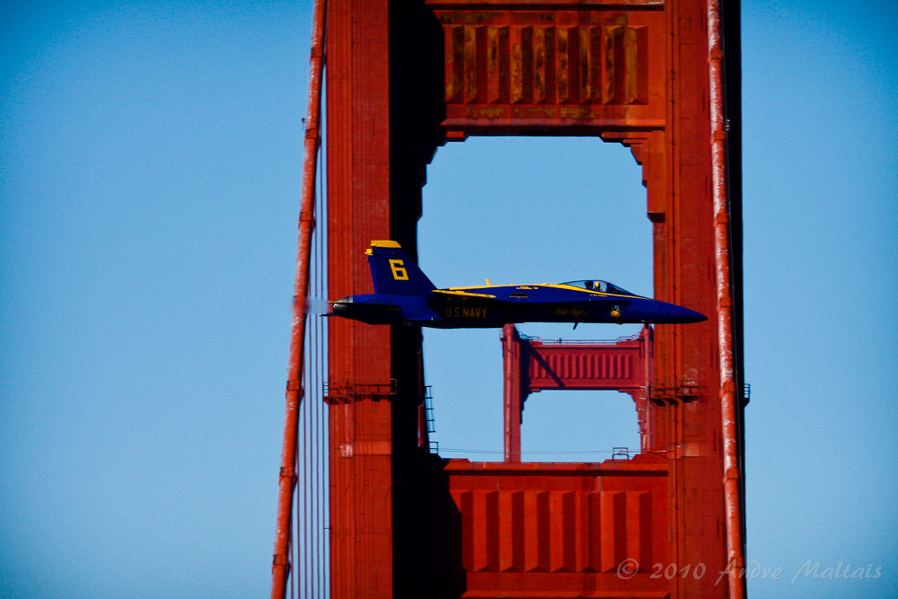 Photograph Golden Gate Flyby by Andre Maltais on 500px