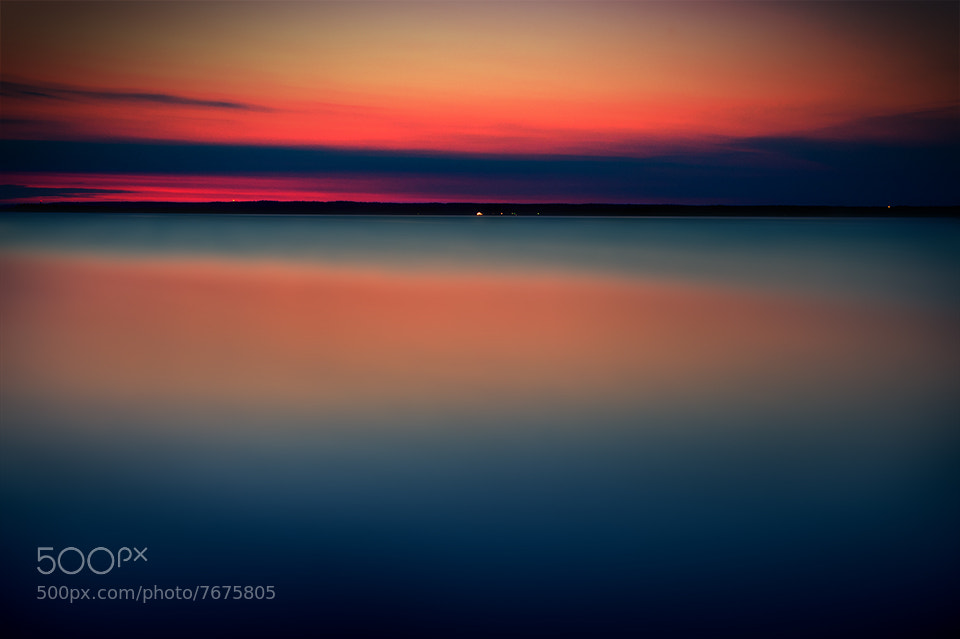 Photograph 00:30 Night on the north of Sweden by Marek Czaja on 500px