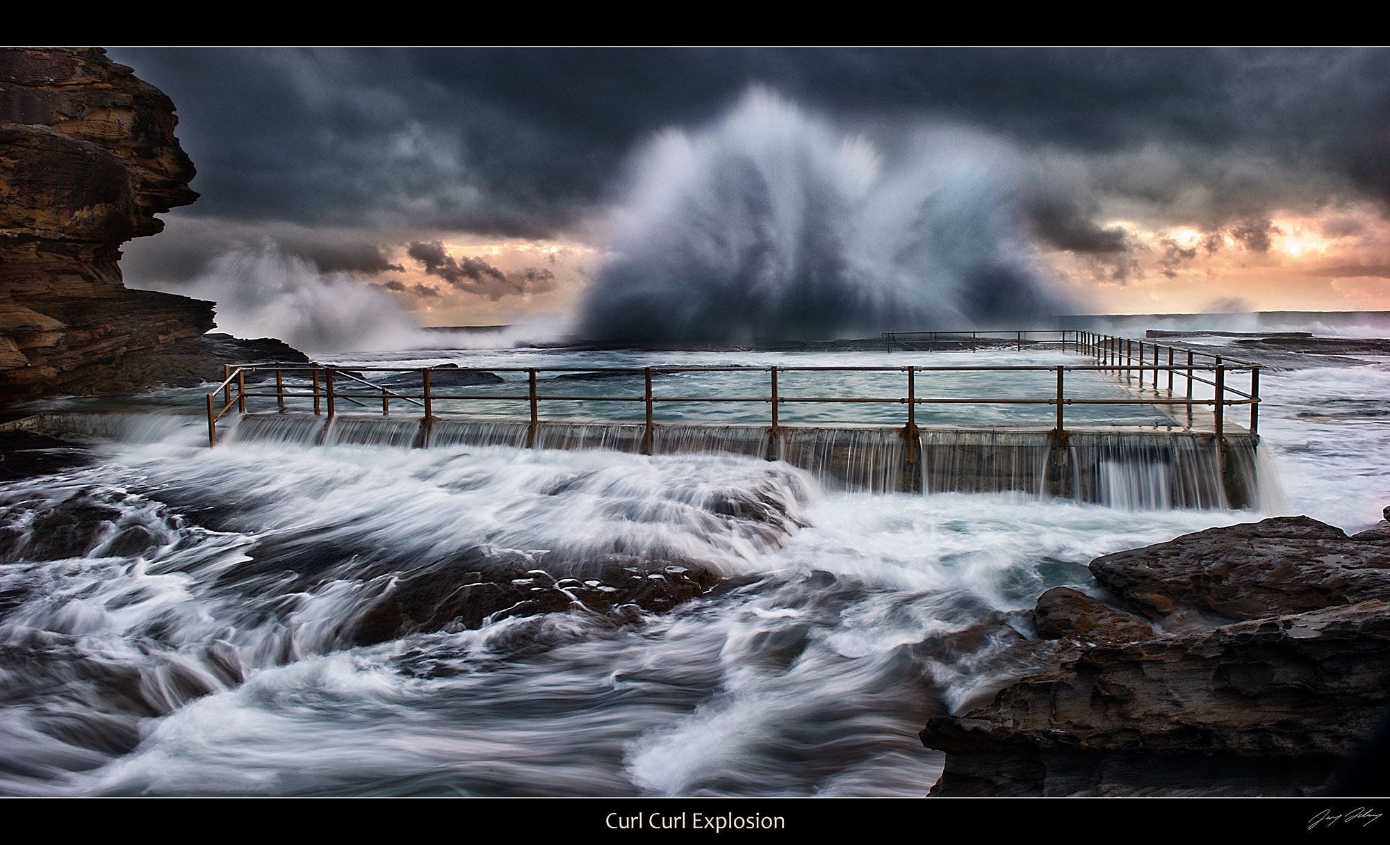 Photograph North Curl Curl Explosion by Jay Daley on 500px
