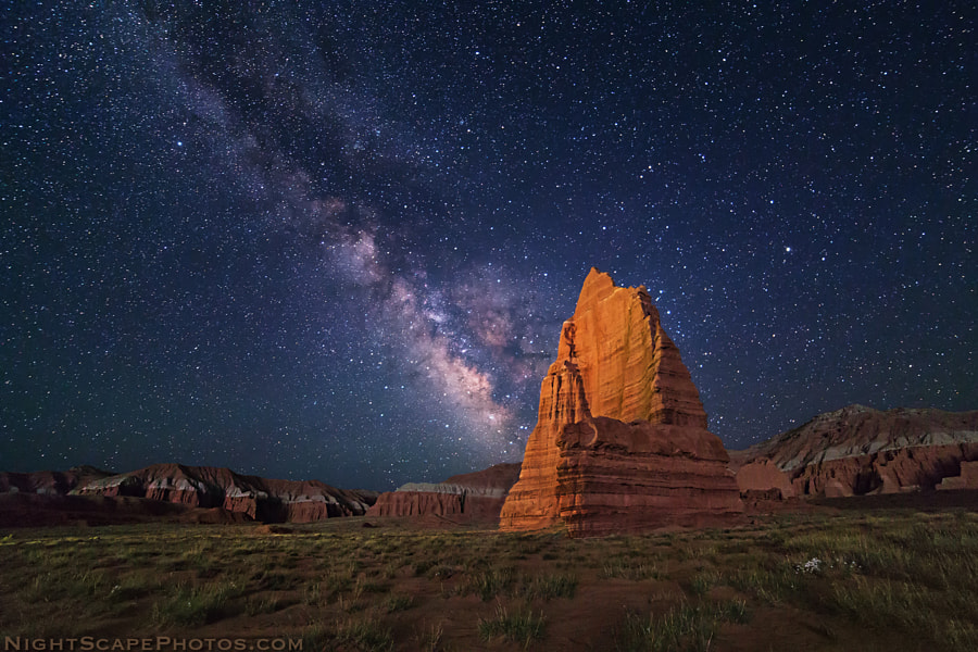 Photograph Temple of the Moon by Royce's NightScapes on 500px