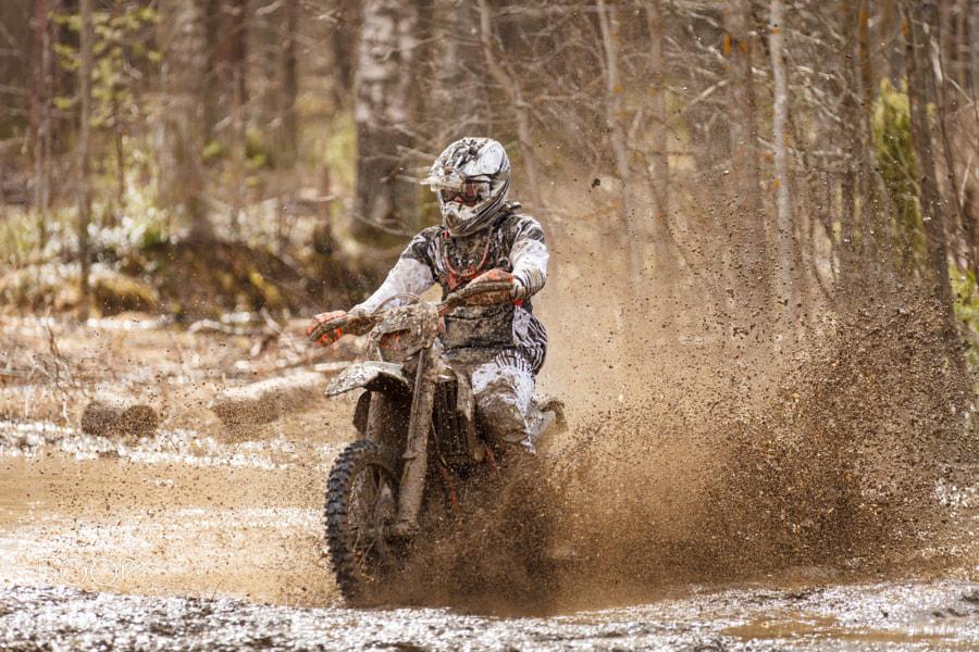 Photograph Motocross Driver by Teemu Tretjakov on 500px