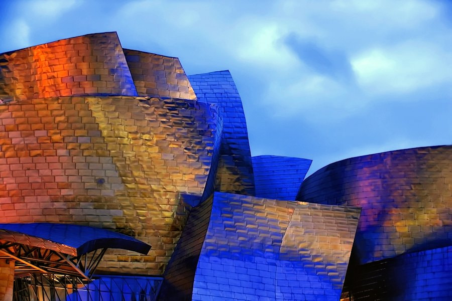 Photograph Guggenheim Bilbao by Carlos Gotay on 500px