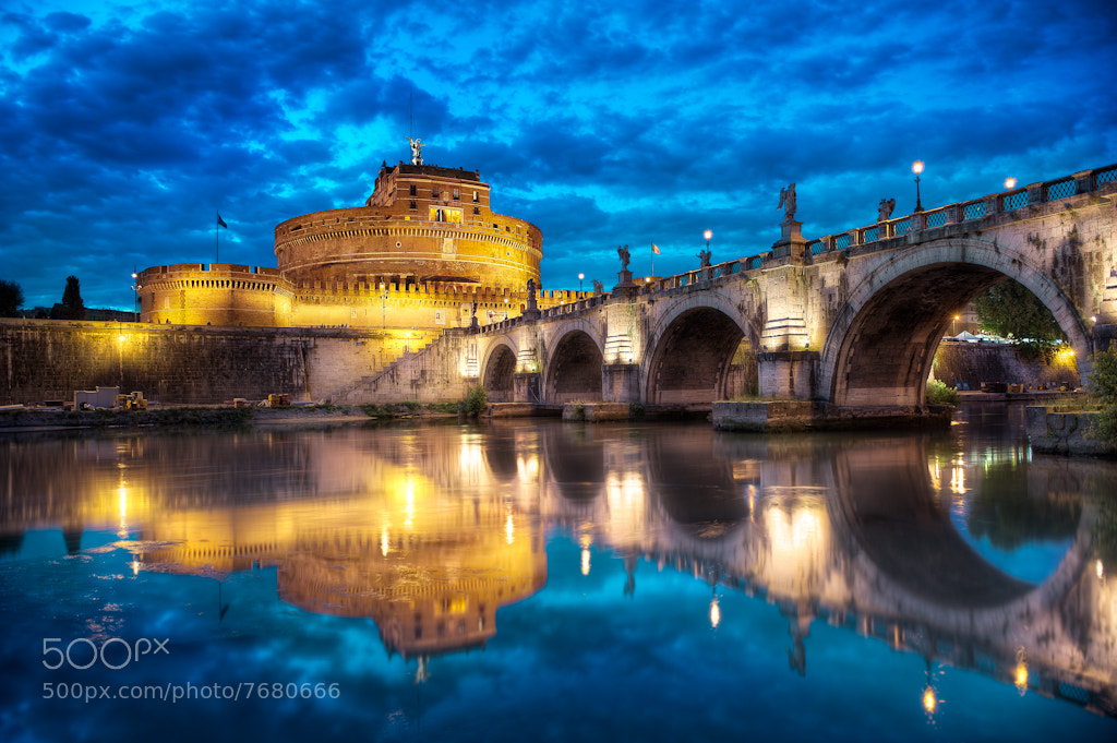 "Photograph Ponte Sant""Angelo by Elia Locardi on 500px"