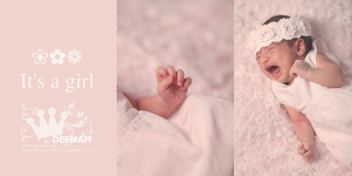 Photograph It's a girl  by DEEMAH IBRAHIM on 500px