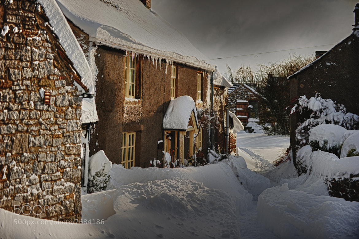 Photograph Derbyshire village at christmas by Villager Jim on 500px