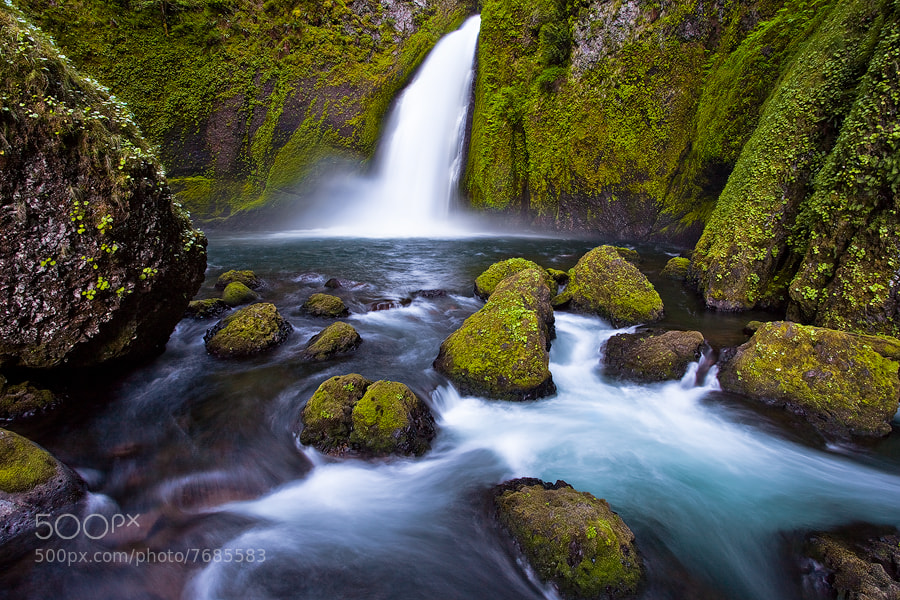 Photograph Wahclella Falls by Joseph Balcken on 500px