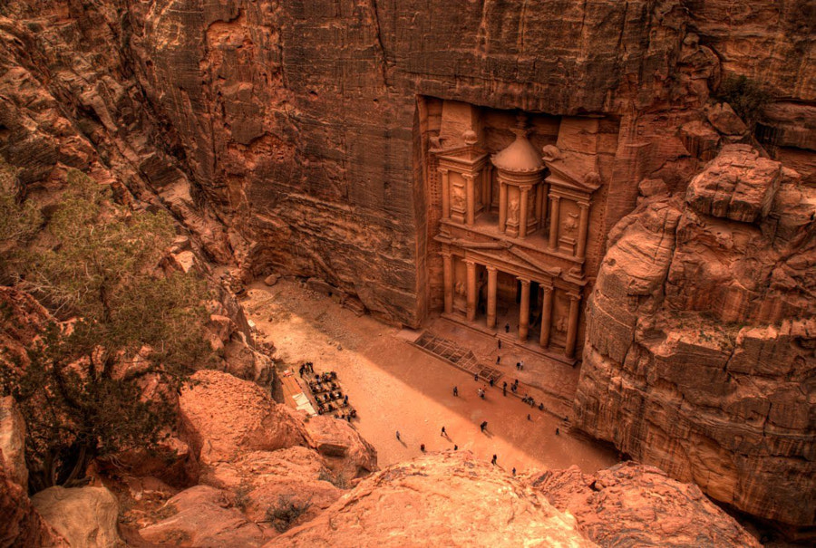 Petra, Jordan by Perri  on 500px.com