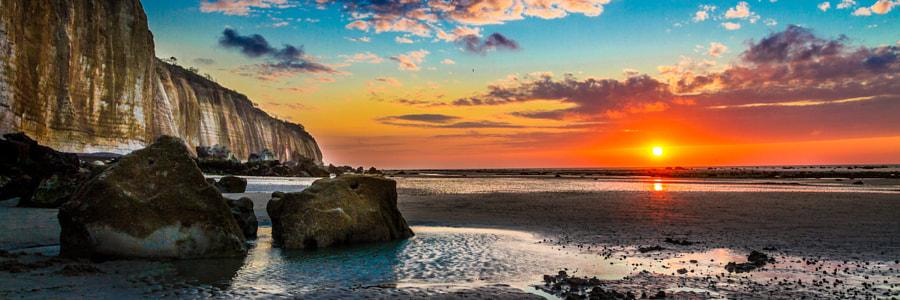 Sunset in Normandie Panorama