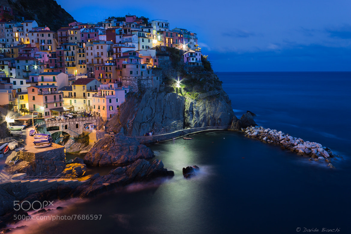 Photograph Cinque Terre - Manarola by Davide Bianchi on 500px