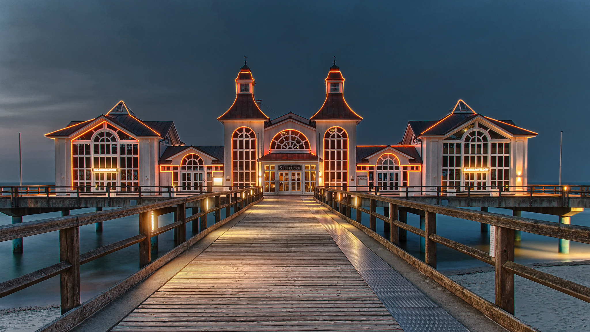 """Photograph """"Seabridge of Sellin by We Sch on 500px"""