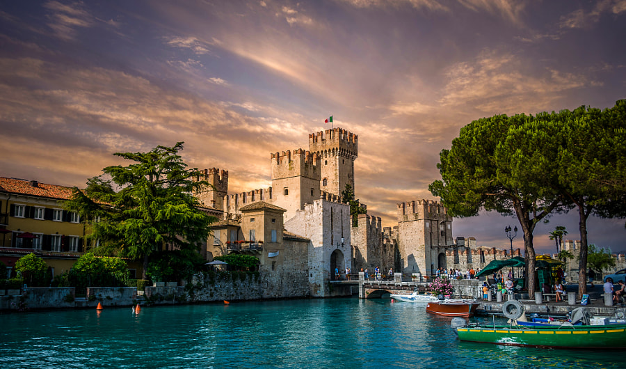 Scaliger Castle, Sirmione by Misha Shneer on 500px.com