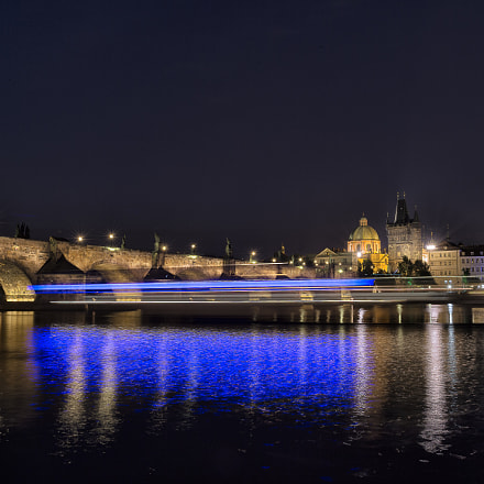 Blue Trails in Prague