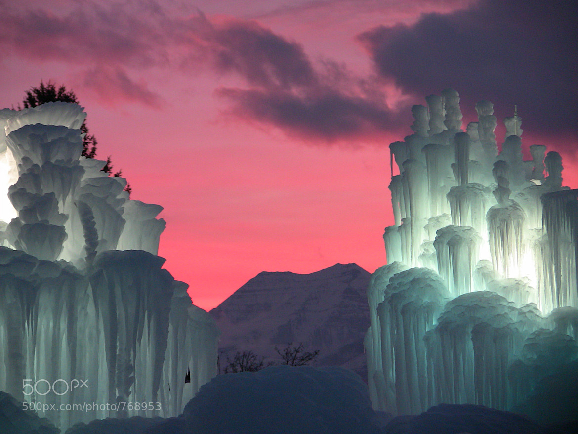 Photograph Midway Ice Castles by Christian Madsen on 500px