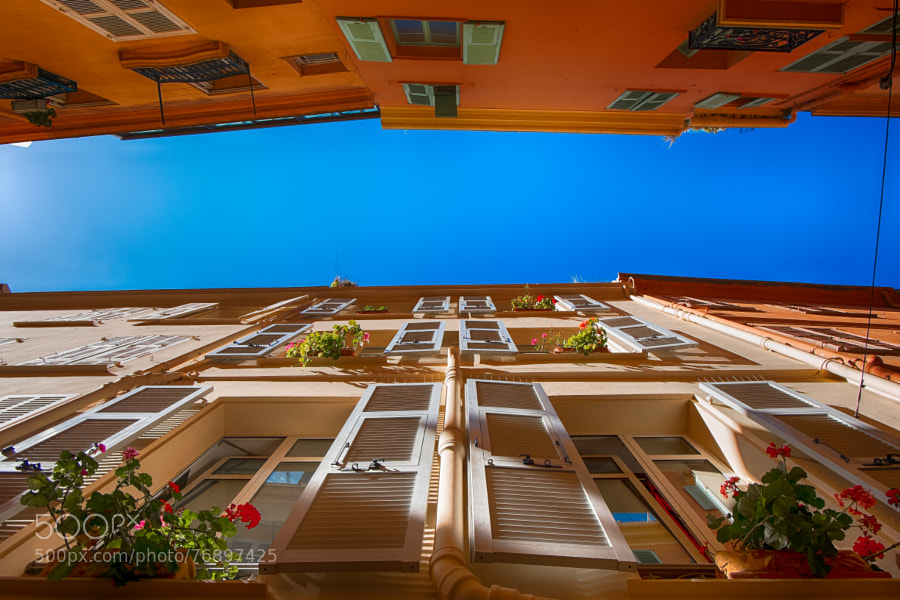 Narrow Streets of Monaco Ville by simonoshea