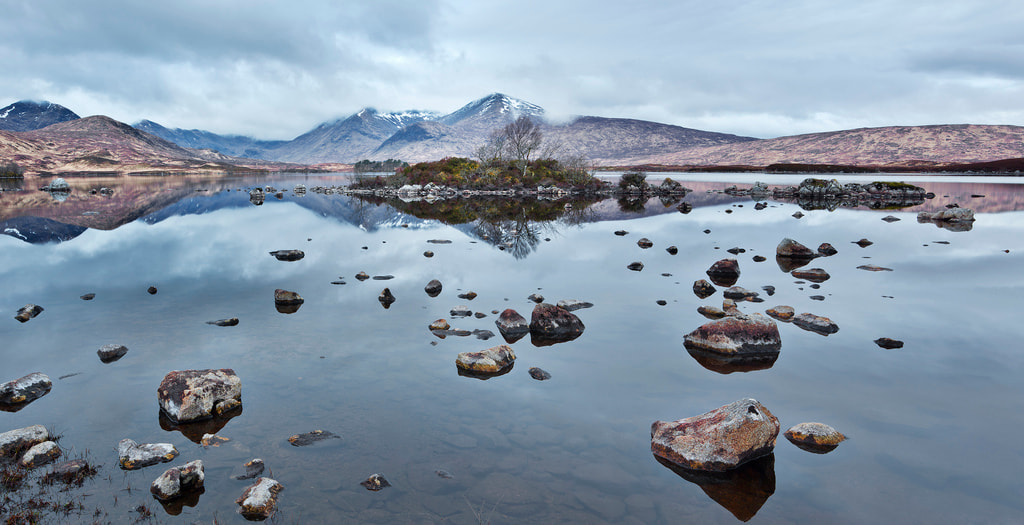 Photograph Loch nah-Achlaise, Rannoch Moor by Simon Byrne on 500px