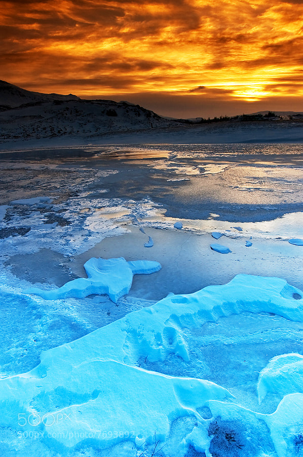 Photograph Iceland - Wonderful sunrises by Pati Makowska on 500px