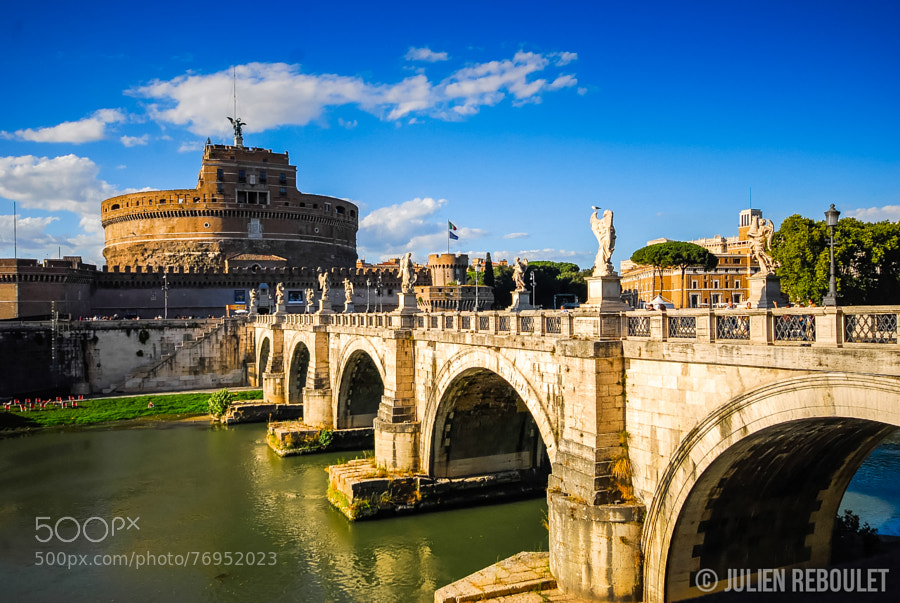 Photograph ROME - Castel Sant'Angelo by Julien REBOULET on 500px