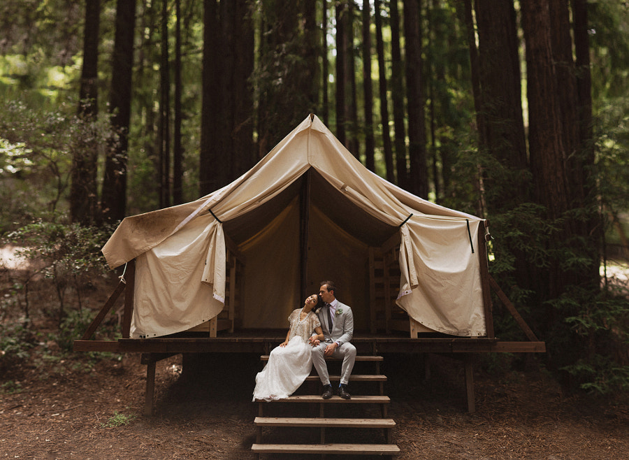 Campground wedding by Sara K Byrne on 500px.com