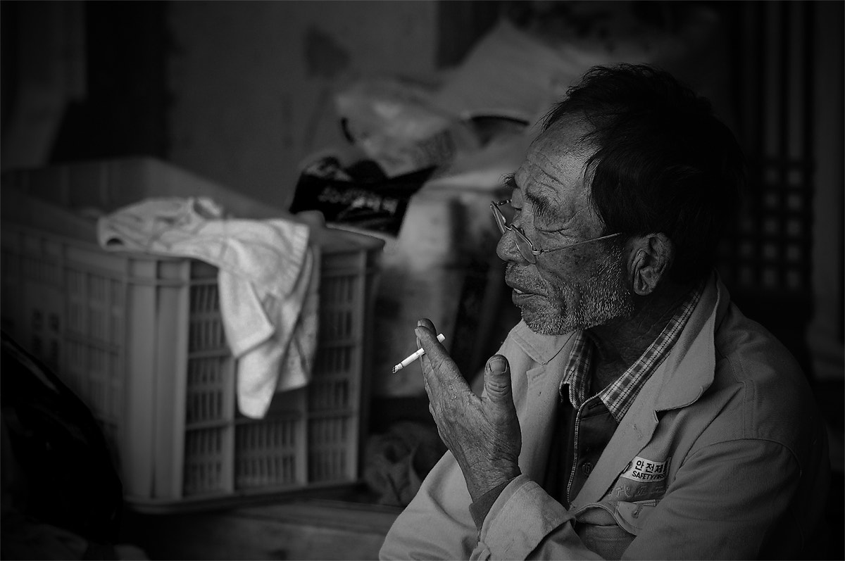Photograph An Old Farmer by Sin Dong Kim on 500px