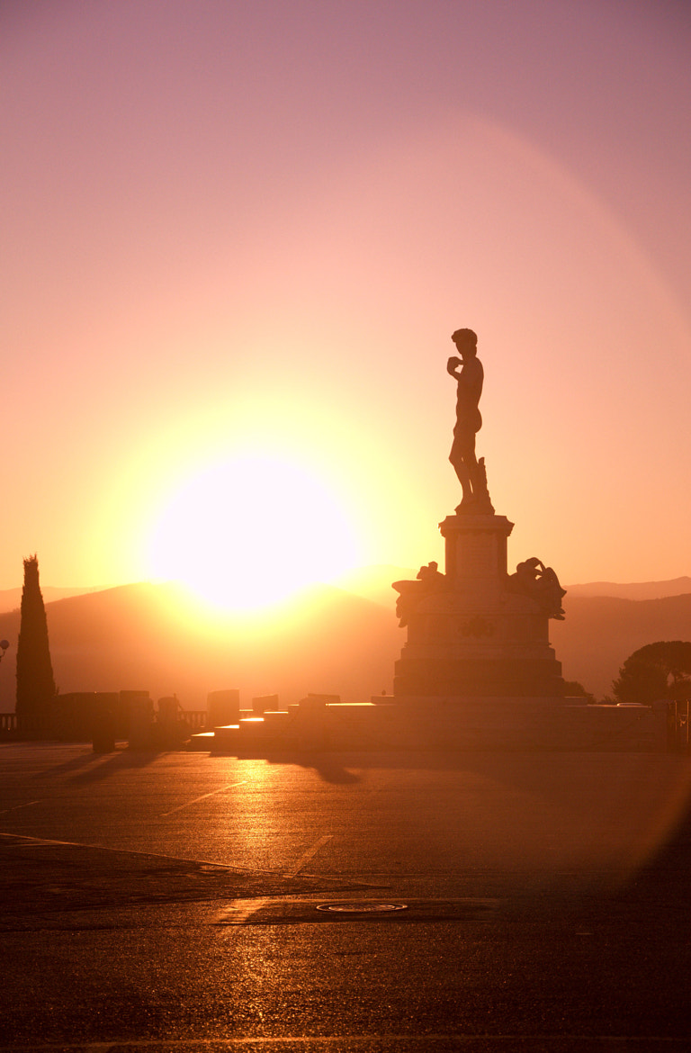 Photograph Sunrise at Piazale Michelangelo by Brittany Reed on 500px