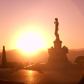 Sunrise at Piazale Michelangelo by Brittany Reed (BrittanyReed)) on 500px.com