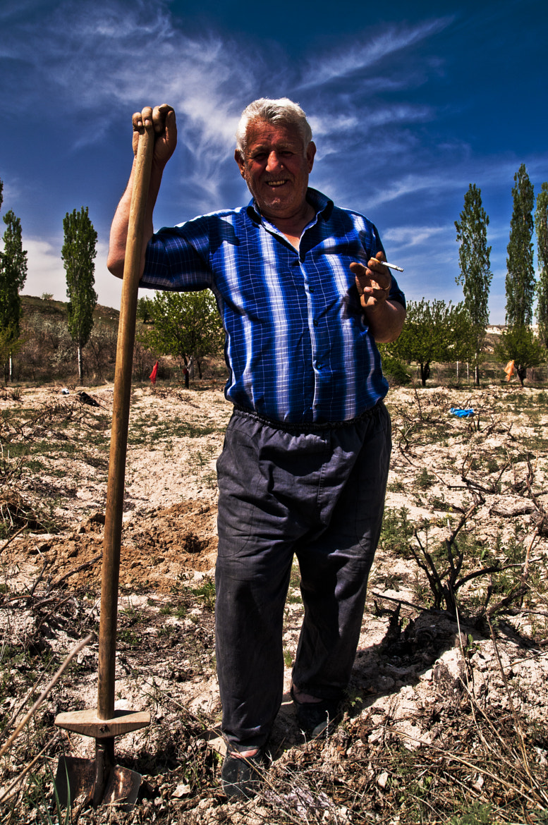 Photograph farmer( old man) by volkan demirel on 500px