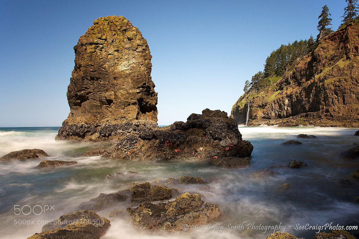 Photograph Coast Stack & Fall by Craig Smith on 500px