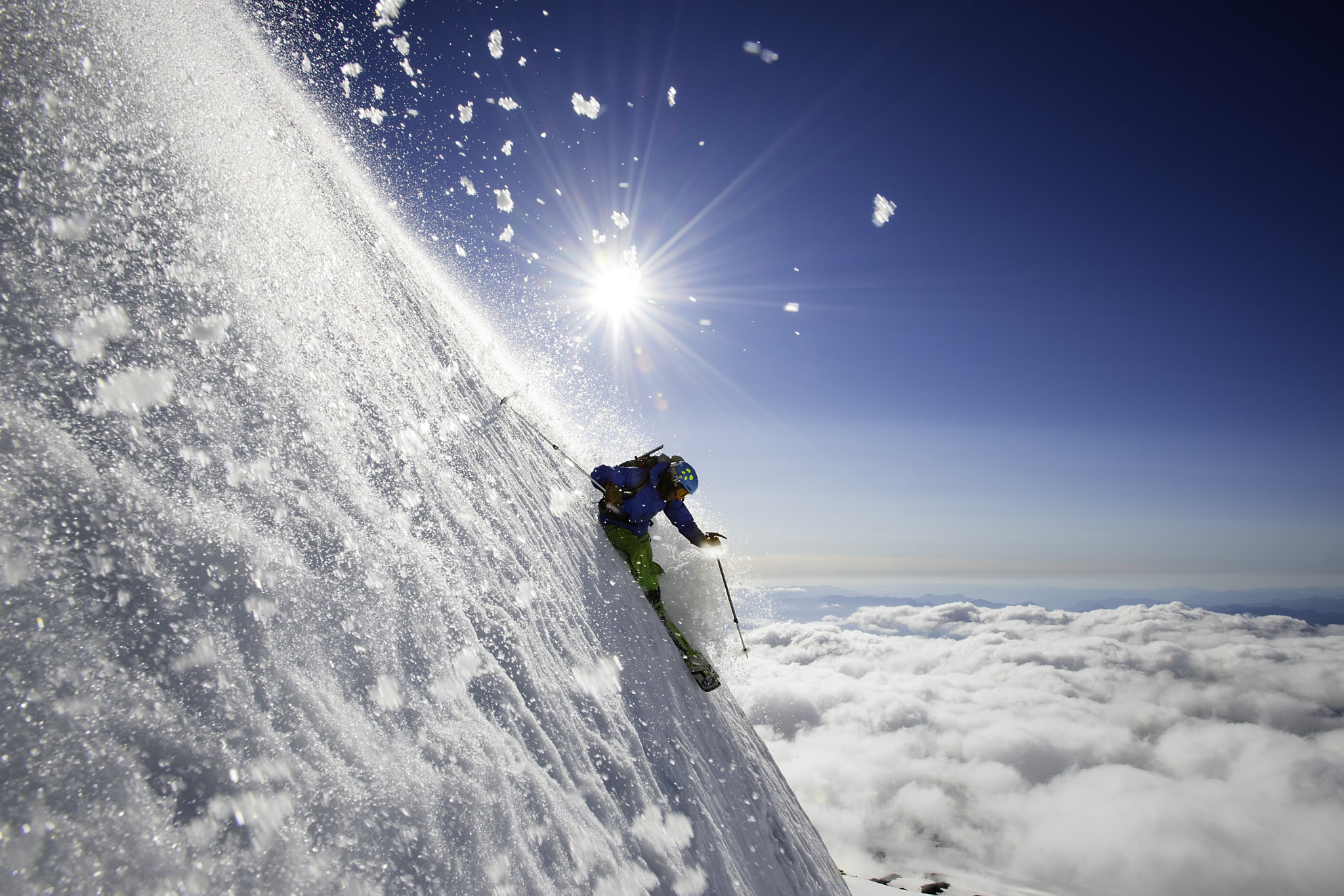 Photograph Steep Summer Volcano Skiing by Jason  Hummel on 500px
