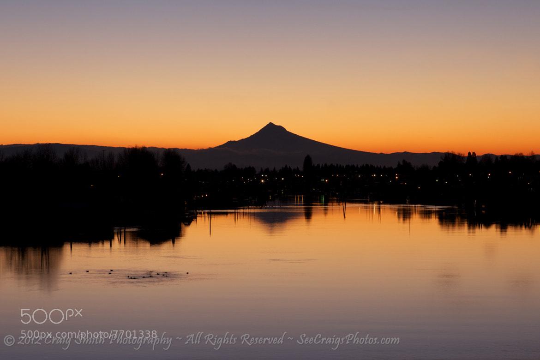 Photograph Mt. Hood Sunrise by Craig Smith on 500px