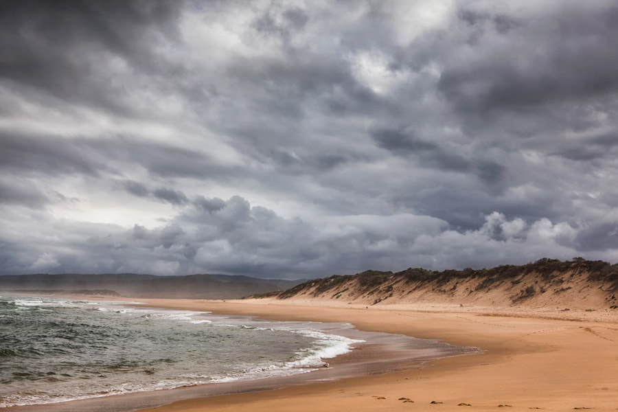 Photograph Beach Under a Storm by Mario Moreno on 500px