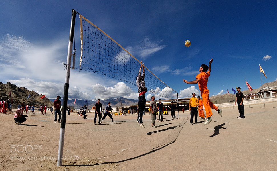 Photograph Volleyball game in Leh by Ori Ron on 500px