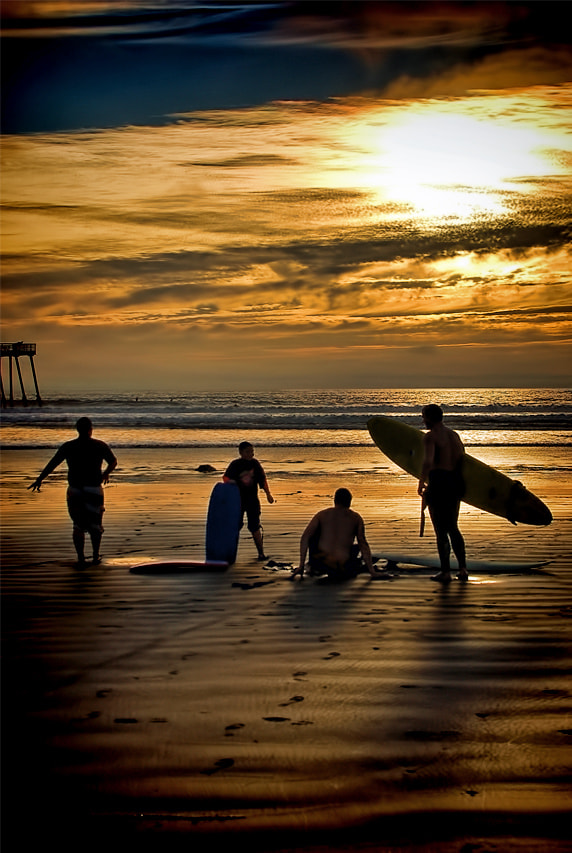 Photograph End of a Day of Surfing by Rob Bishop on 500px