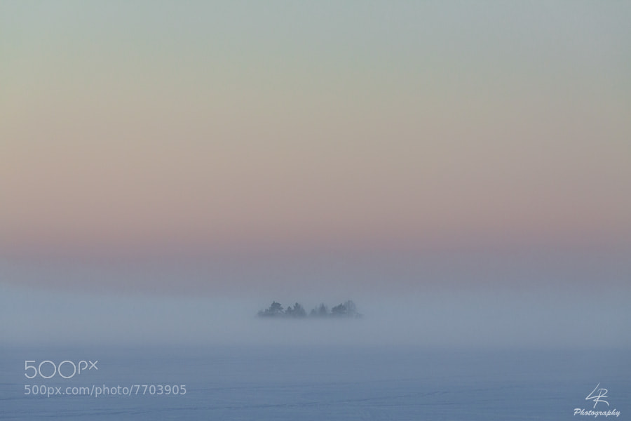 Photograph Foggy Island by Leo Rantala on 500px