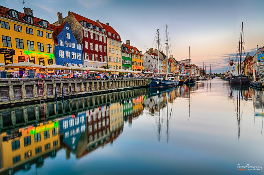 Photograph Nyhavn Night by PhotonPhotography -Viktor Lakics on 500px